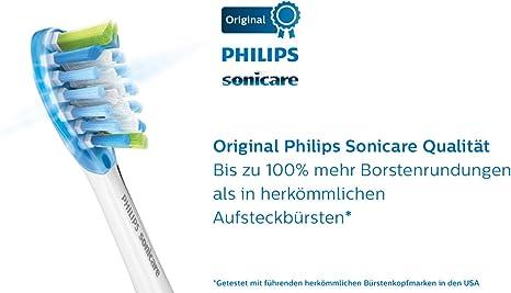 Philips Sonicare HX9044/17 cepillo de cabello 4 pieza(s) Blanco - Cabezal (Blanco): Amazon.es: Salud y cuidado personal