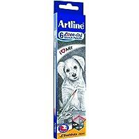 Artline Love -Art 6 Sktech Pencils (Pack Of 2)