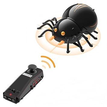 Virhuck DIY RC Spinne, Bionic Insekt Spielzeug für Kinder, 2.4Ghz ...