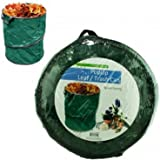 Pop Up Leaf Trash Can 13 Gallon Easy Storage, Collapsible Polyester Bags That are Space Saving and Convenient Ways of Disposing of Leaves and Trash by Garden Depot