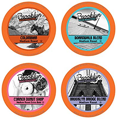Brooklyn Beans Single-cup Coffee for Keurig K-Cup Brewers, 40-Count
