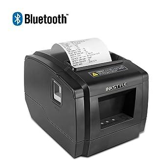 Amazon.com: INKSTYLE - Impresora térmica Bluetooth directa ...