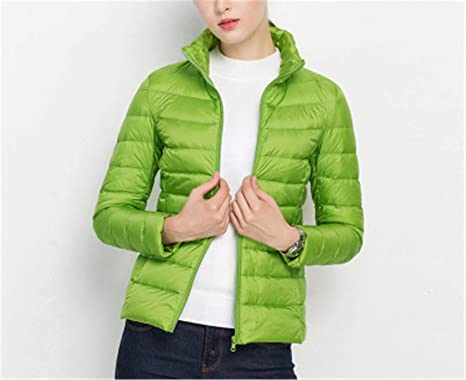 55d14886b Micca Bacain Women Winter Coat Ultra Light White Duck Down Jacket ...
