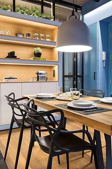 Amazon.com: 2 x Home – Conjunto de 2 sillas de comedor ...
