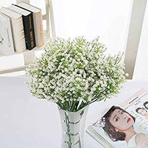 3 Fork Artificial Baby's Breath Flowers Bouquet Decorative Flower For Wedding Home Decorations 86