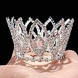 Zebratown Rhinestone Sparkling Crystal Photo Prop Bridal Wedding Party Newborn Baby Tiara Crown Headband- Princessa Gorgeous