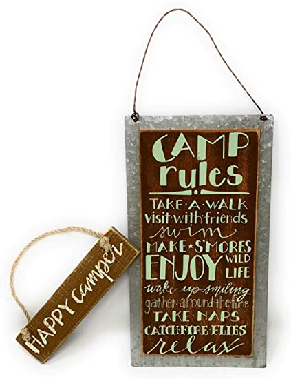 Camping Signs Images