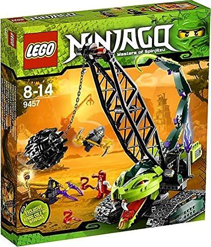 Amazon Lego Ninjago Set 9457 Fangpyre Wrecking Ball Toys Games