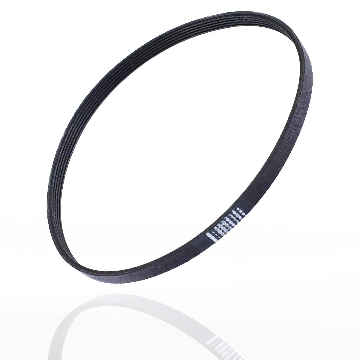 Poweka W10006384 Washer Drive Belt Replacement part - Exact Fit for Whirlpool & Kenmore Washing Machine -Replace AP6014712 PS11747978 WPW10006384