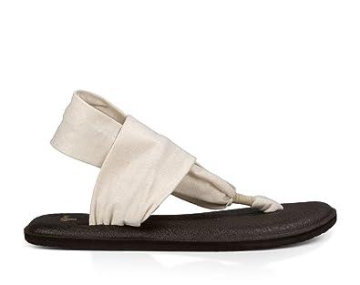 d95db914d Sanuk Yoga Sling 2 Metallic Women s Sandal (5 B(M) US