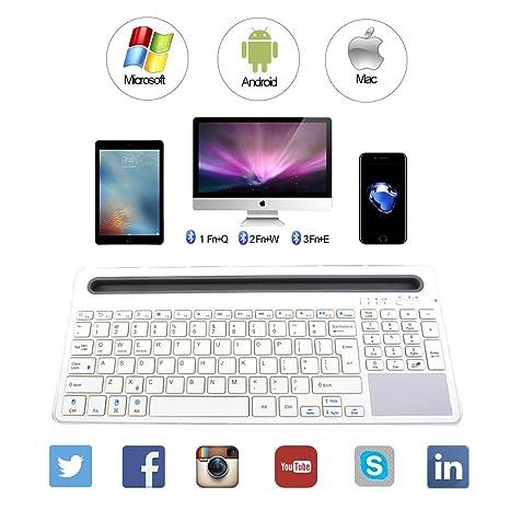 Amazon.com: keywin U-Groove Multi Teclado Bluetooth ...