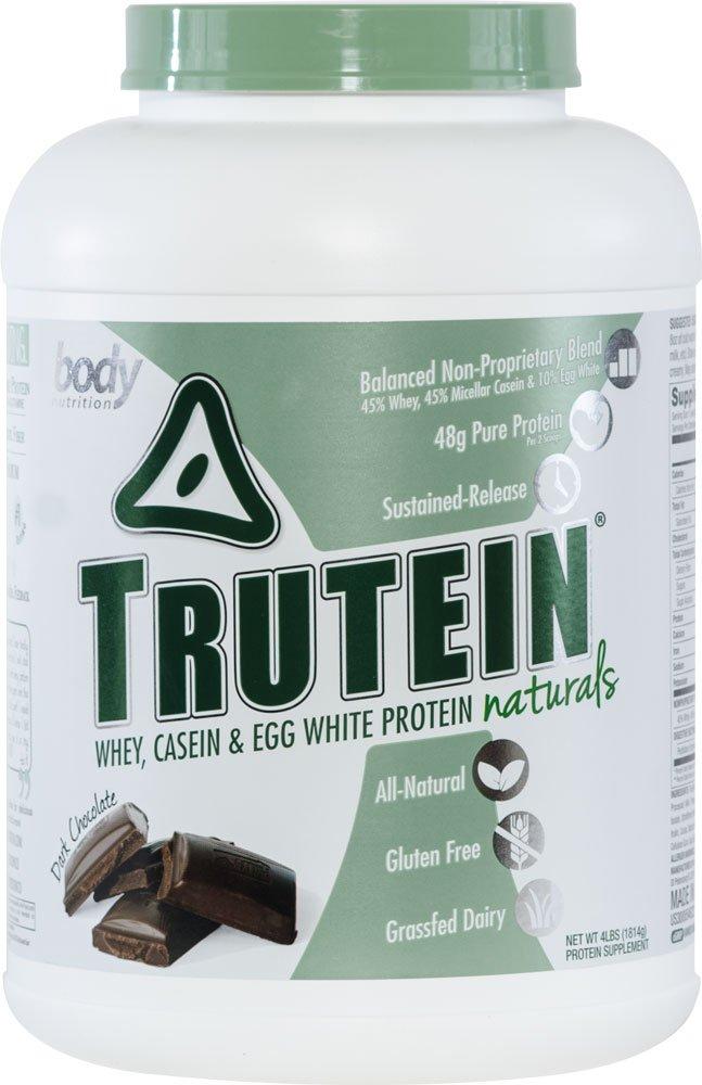 Body Nutrition Trutein Naturals Dark Chocolate Protein Blend 4 LB