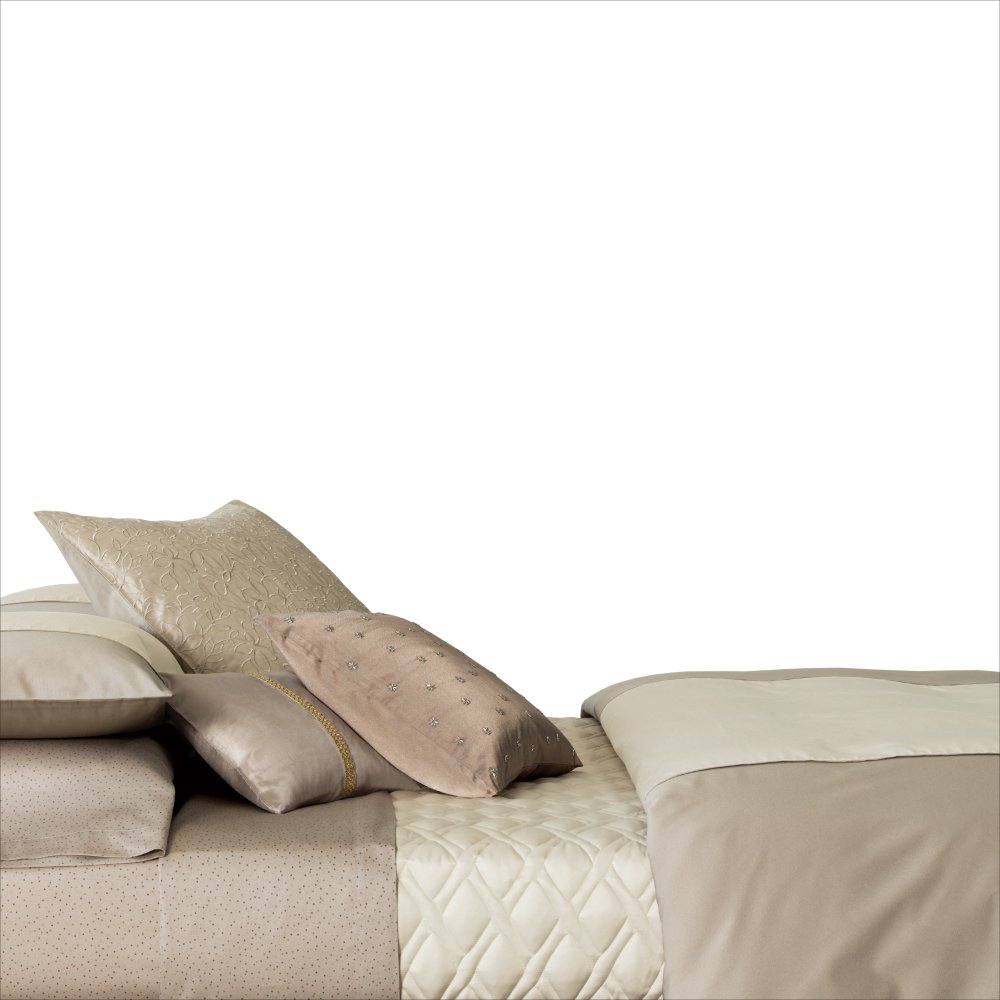 Amazon.com: Calvin Klein Home Champagne Comforter Set, King: Home U0026 Kitchen