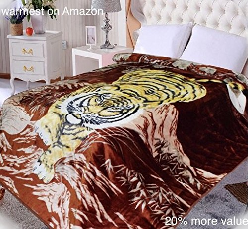 Crouching Tiger Animal Blanket
