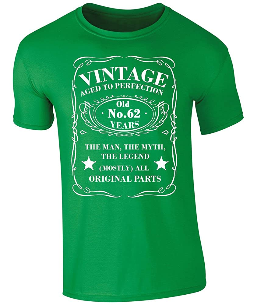 Vintage 62 Years Old T-Shirt 62nd Birthday T-Shirt