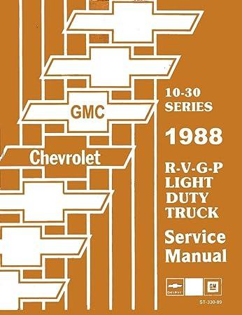 1988 gmc vandura wiring diagram amazon com bishko automotive literature 1988 chevy gmc r v g p  bishko automotive literature 1988 chevy