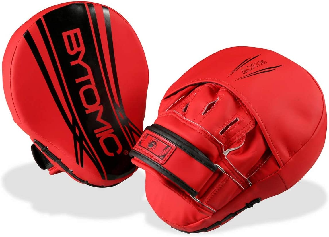 Bytomic Axis V2 Focus Mitts Red//Black