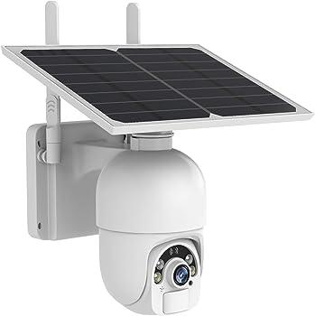 Sdeter 1080p Outdoor Wireless Home IP Camera Solar Security Camera