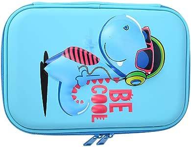 BoRui-De Cartoon Animal - Estuche para lápices (Goma EVA), Materiales sintéticos, Azul (Lake Blue), 315.00 * 230.00 * 20.00: Amazon.es: Hogar