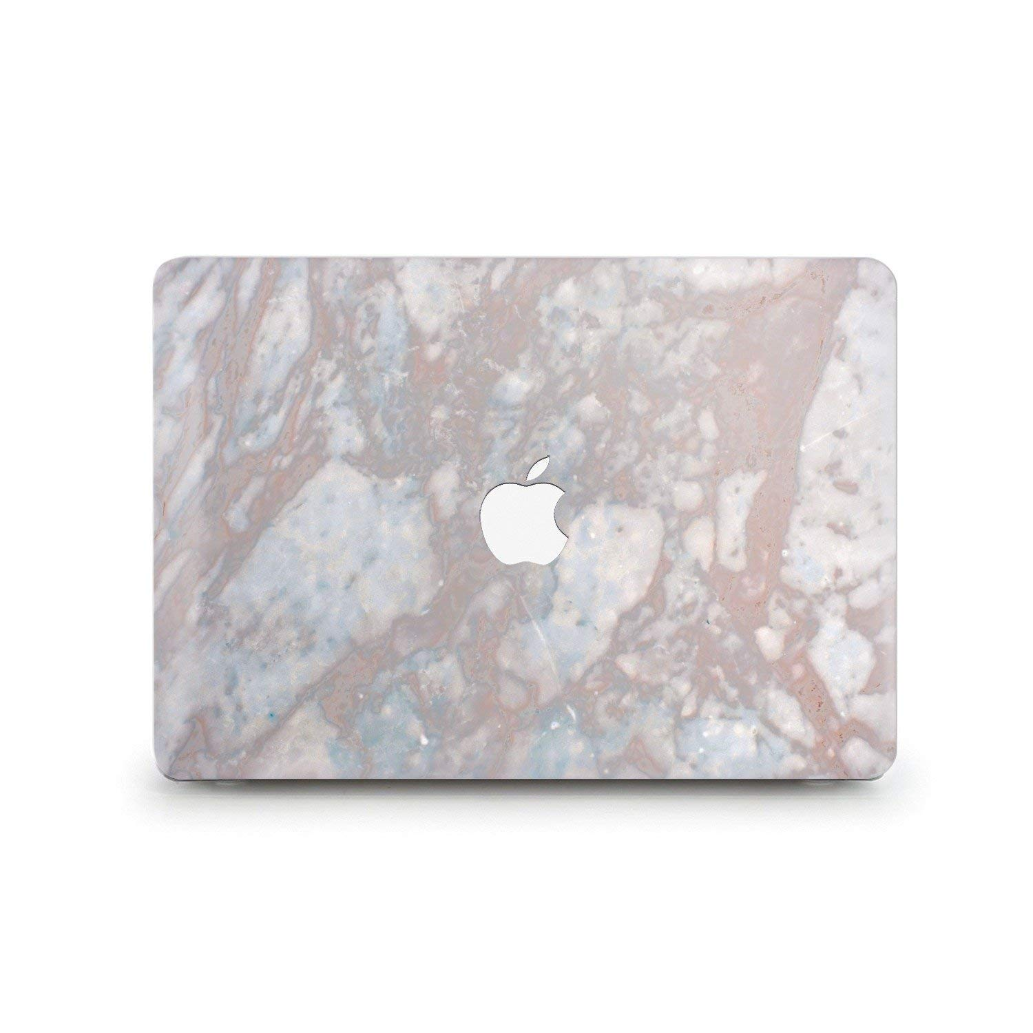 Durable Laptop Case Art Designed Protective Cover for MacBook Laptop Modern Hard Case with Printed Bottom (Air 11 (A1370 & 1465), Sandy Marble)