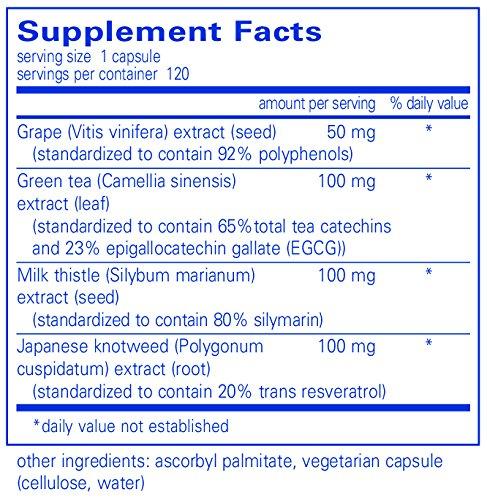 Pure Encapsulations Bioflavonex 120 VegiCaps