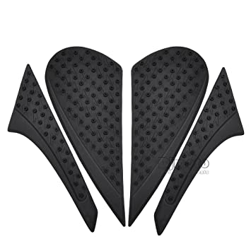 BJ Global Anti slip sticker 3M Motorcycle Tank Traction Pad Side Knee Grip Protector For HondaCBR600RR 2013-2016