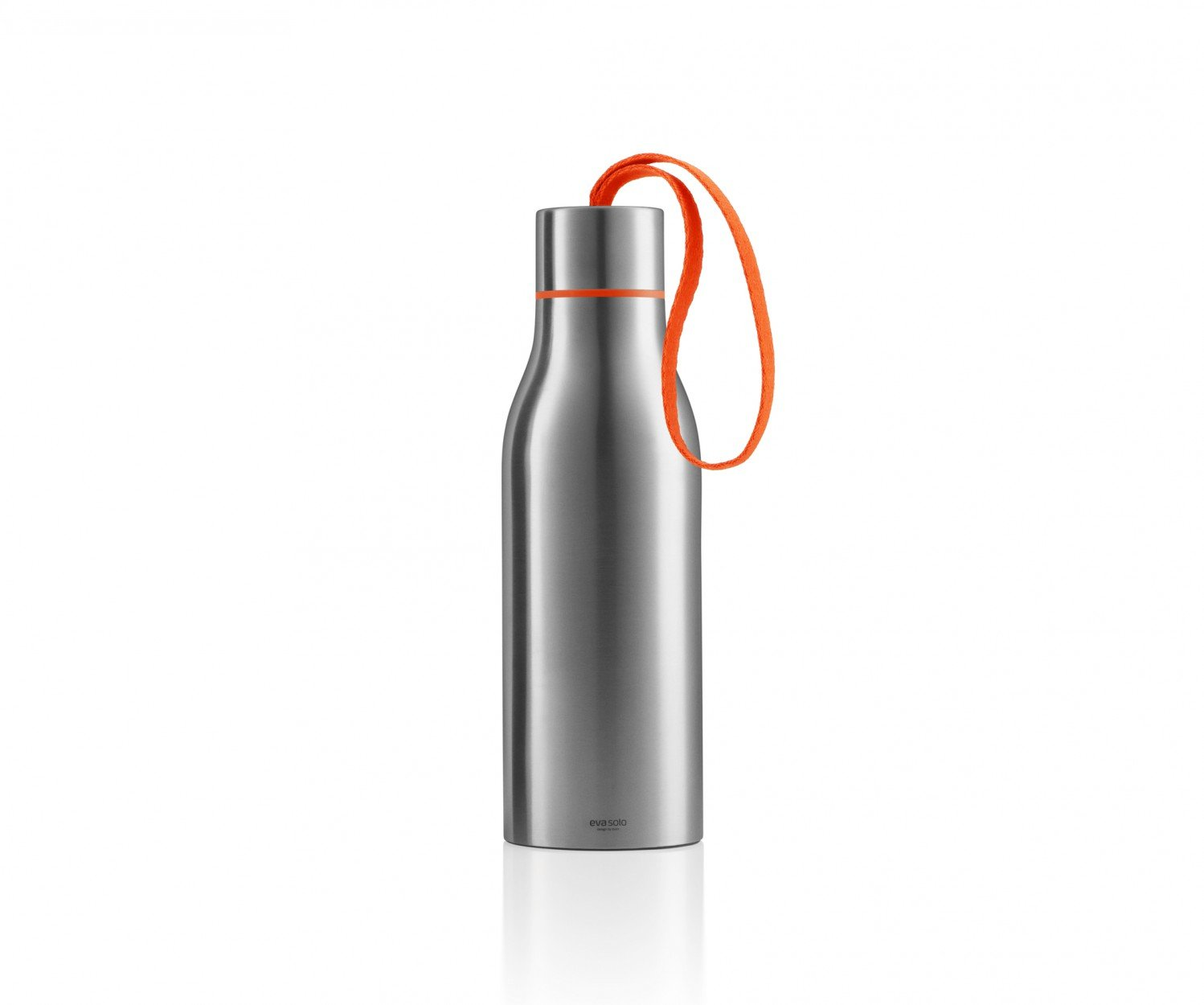Eva Solo Thermo Bottle with Strap, Brushed Stainless Steel ...
