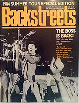Backstreets BRUCE SPRINGSTEEN fanzine issue 10 [Single Issue