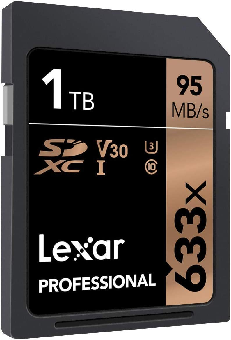 Lexar 128GB Professional 633x SDXC Class 10 UHS-I//U1 Memory Card Up to 95 Mb//s 2 Pack LSD128GCB1NL633