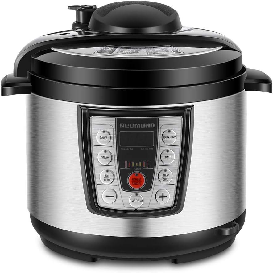REDMOND 5 Quart Multi cooker, 6-in-1