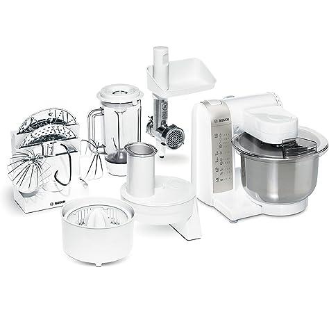 Bosch MUM58L20 CreationLine Robot de cocina con accesorios, 1000 W, 3.9 litros de capacidad, color gris: Amazon.es: Hogar