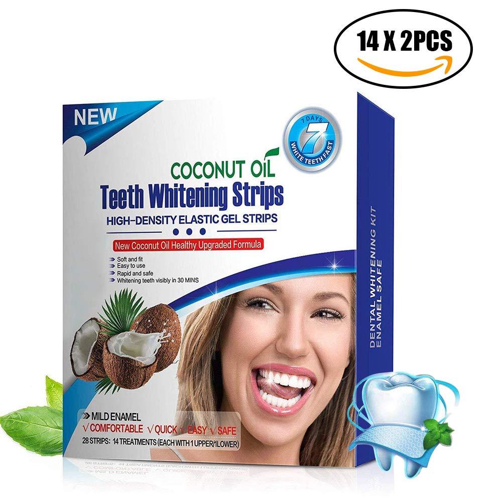 Teeth Whitening Strips - YRYM HT Teeth Whitener Professional Best Teeth Whitening Kit - Pack of 28- Lasts 6 Months & Beyond Best Teeth Whitening