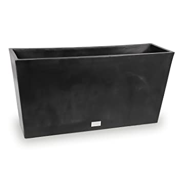 Veradek Midori Long Trough Planter, 16 Inch Height By 9 Inch Width By