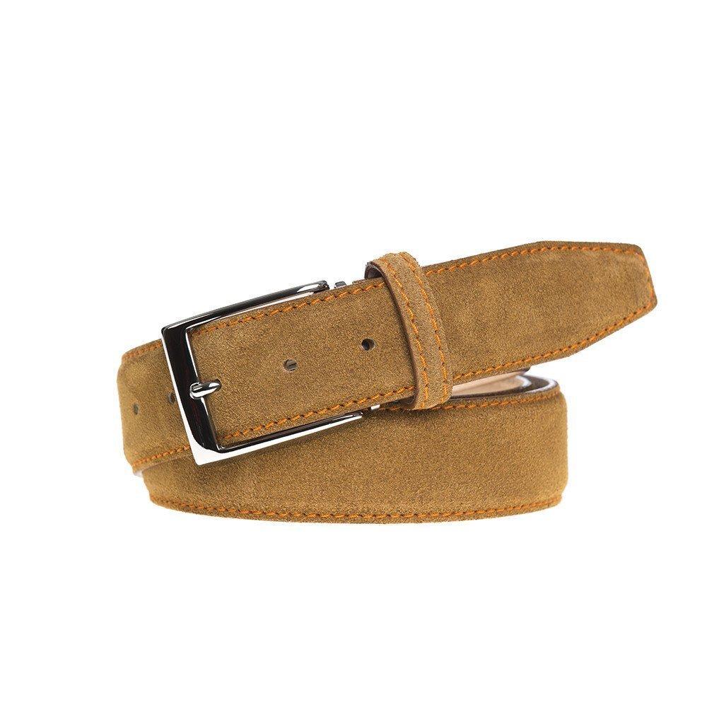 Toast Suede Leather Belt
