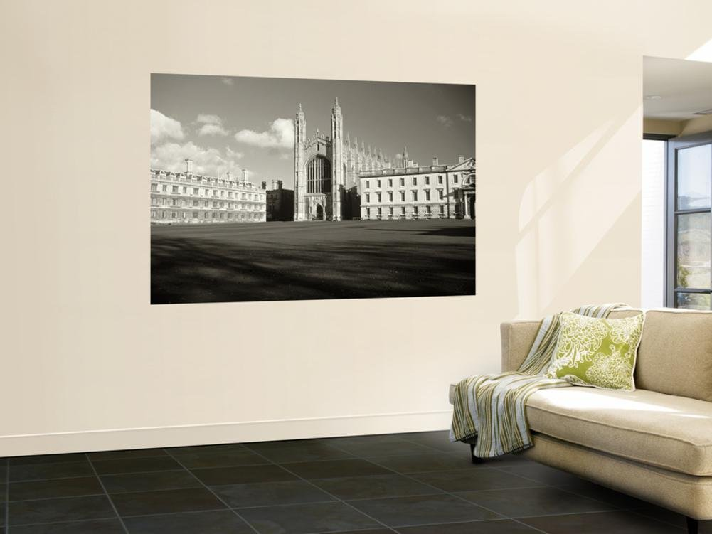 Kings College and Chapel, Cambridge, England Wall Mural by Alan Copson 48 x 72in