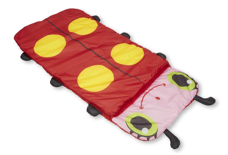 Melissa & Doug Sunny Patch Mollie Ladybug Sleeping Bag With Matching Storage Bag