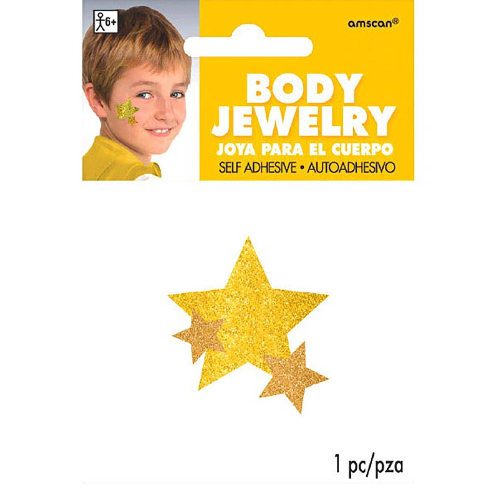 Amscan Yellow Spirit Body Jewelries, Party Accessory, 24 Ct. by Amscan (Image #1)