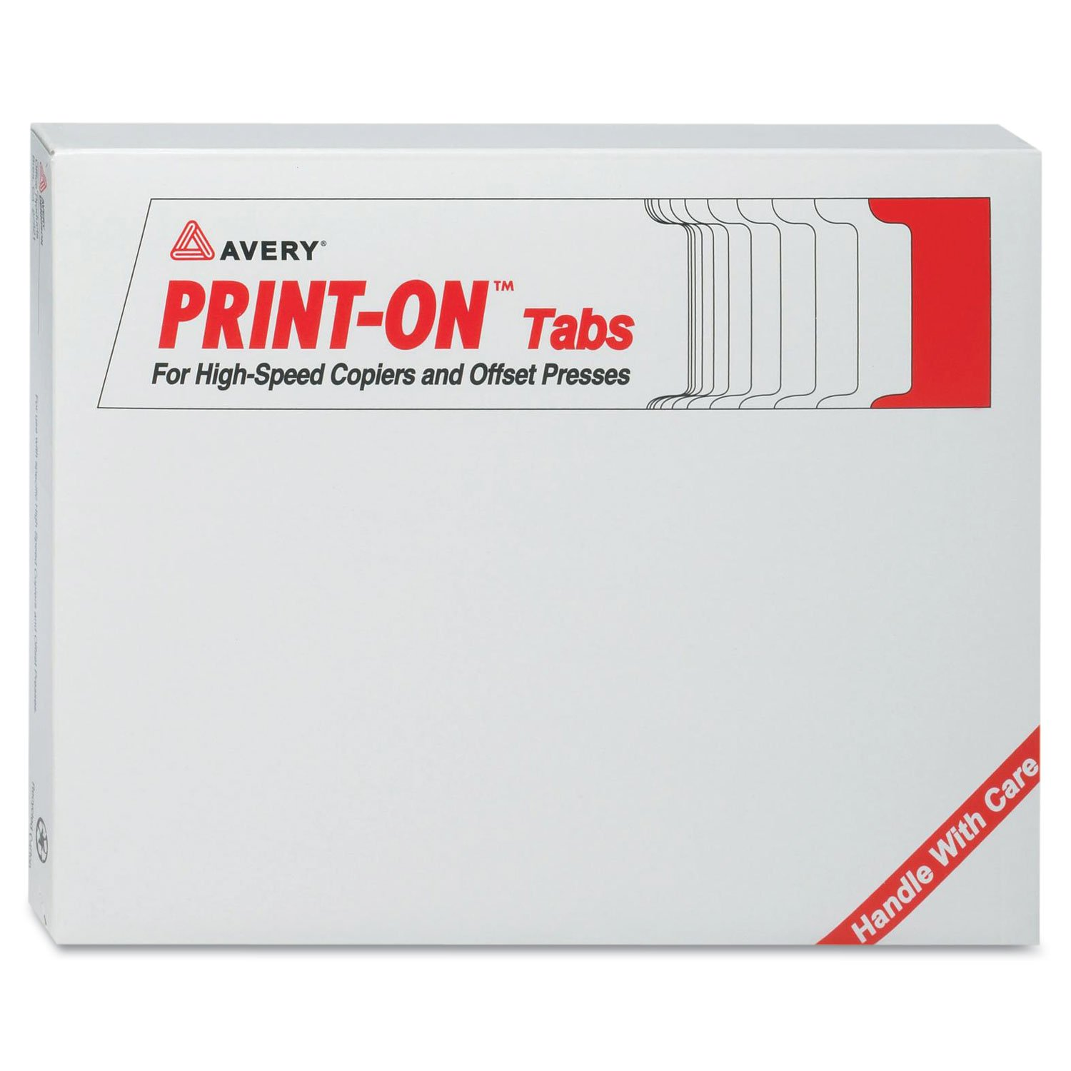 Avery 20406 Customizable Print-On Dividers, 5-Tab, Letter, 30 Sets