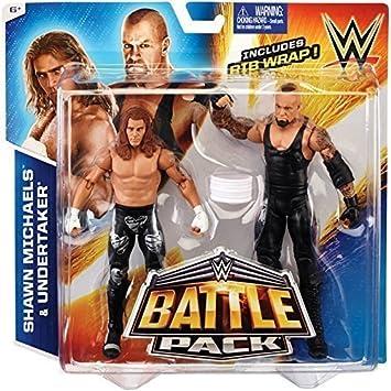 WWE Battle Pack Series #33: Undertaker vs. Shawn Michaels Action Figure (2- Pack) by WWE by WWE: Amazon.es: Juguetes y juegos