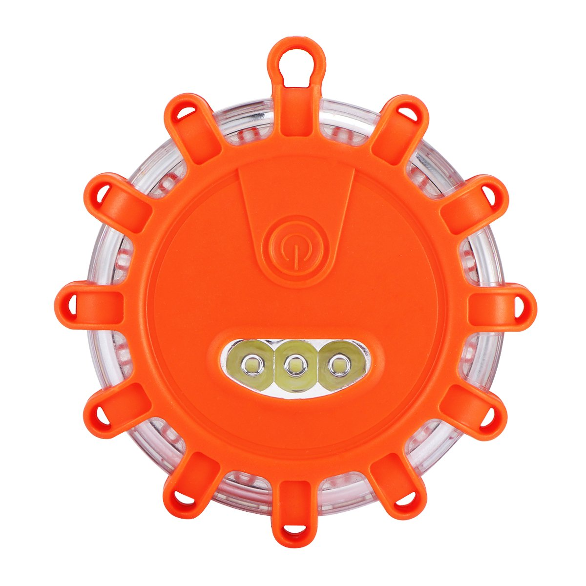 Sunsbell LED Road Light Emergency Roadside Safety Beacons Flashing Warning Light with Magnetic Base for Car Truck Boat