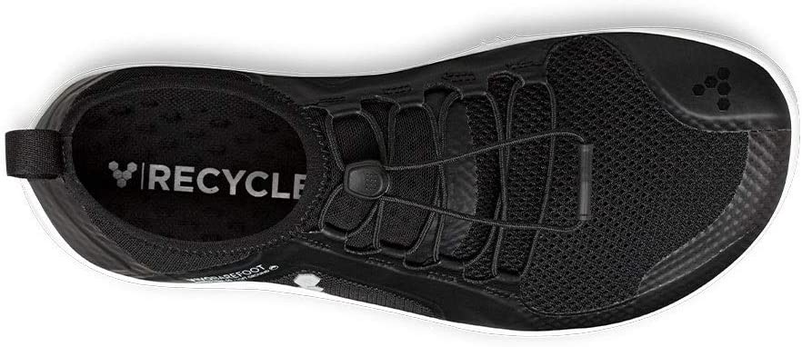 Vivobarefoot Womens Primus Trail Soft Ground Textile Synthetic Trainers Black