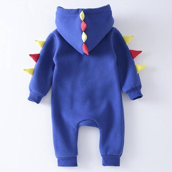 bastante agradable alta moda Códigos promocionales YanHoo Ropa Recién Nacidos Ropa de Dinosaurio para bebés ...