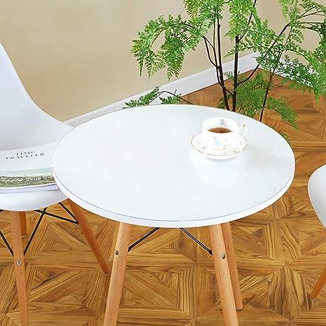 SED Cubierta de Mesa Redonda para el hogar, Color sólido Simple ...