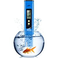 PH Meter, Digital Ph Meter for Hydroponics with 0-14 PH Measurement Range, 0.01 PH High Accuracy PH Reader for Water…