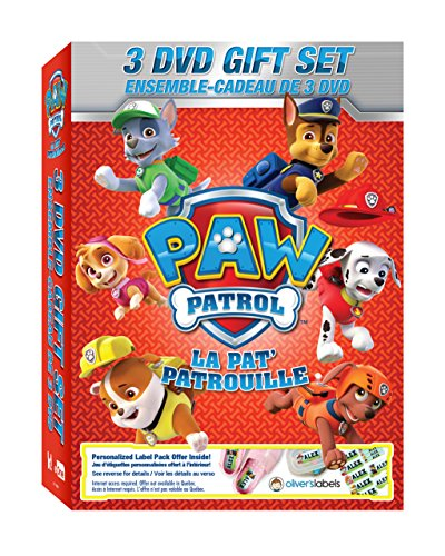 Paw Patrol - 3 Dvd Gift