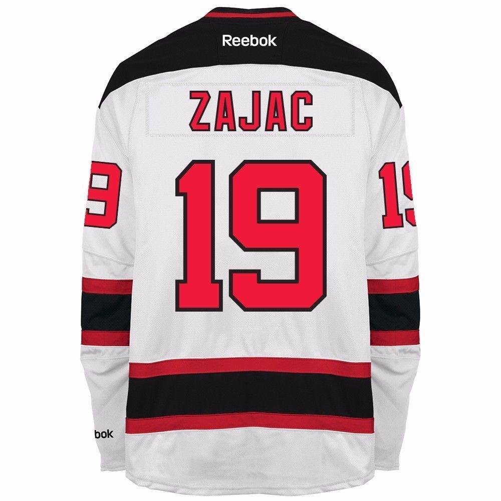 Amazon.com   TRAVIS ZAJAC 2016-17 New Jersey Devils white Reebok NHL  Premier Team Player Jersey Men s   Sports   Outdoors 4e8177f34