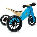 Kinderfeets Tiny TOT 2-in-1 Trike Balance Bike Blue