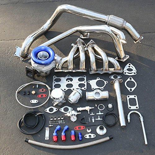 For Mazda MX6/Ford Probe V6 High Performance 9pcs T04E Turbo Upgrade Installation Kit ()