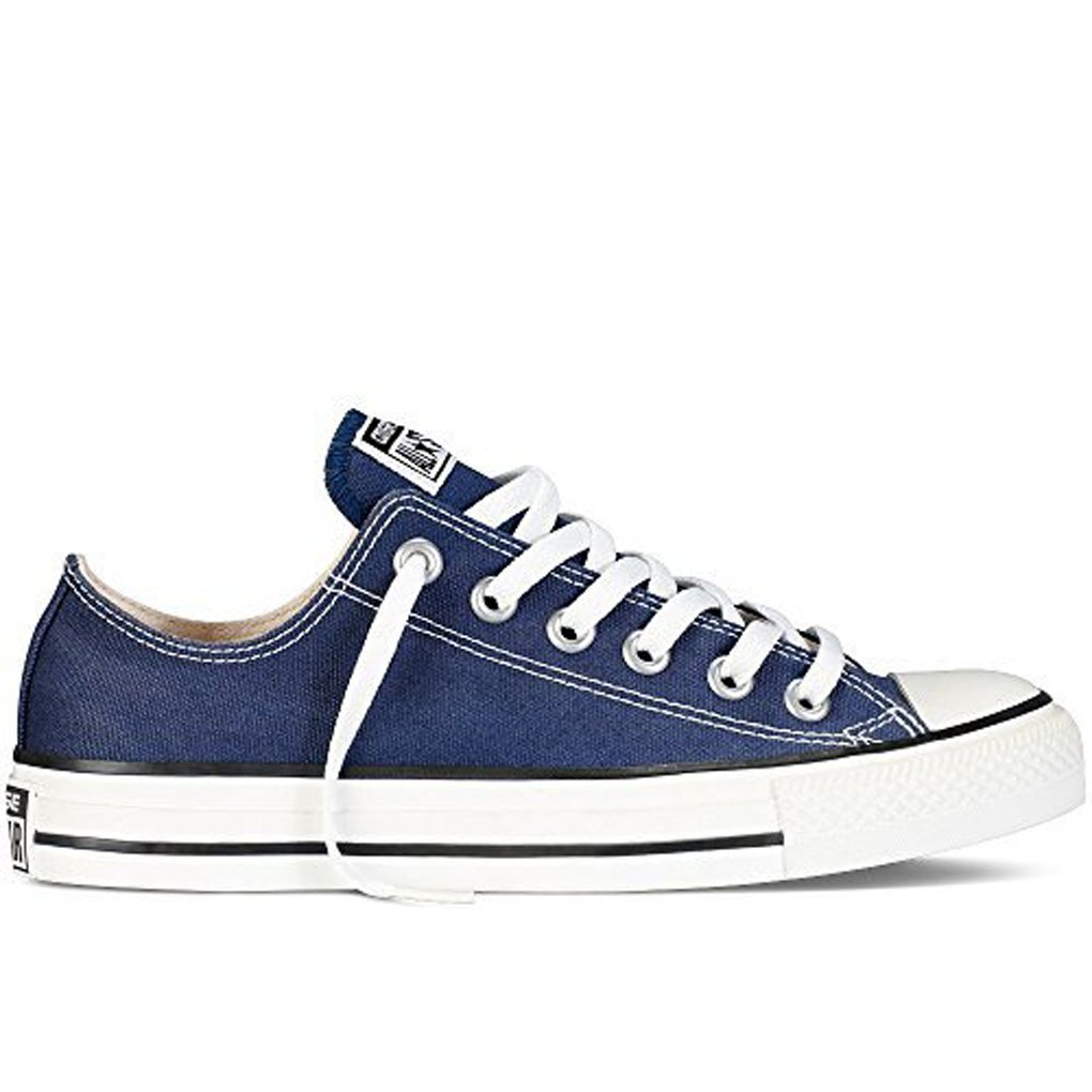 Converse Men's All Star Chuck Taylor Lo Top Oxfords Navy 11 D(M) US