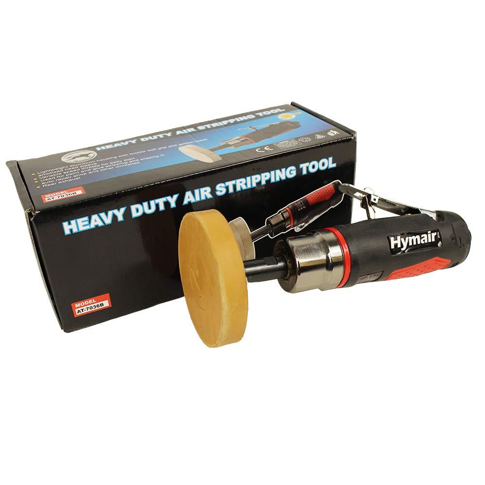 Amoladora recta con disco de caucho de Hymair 4000RPM